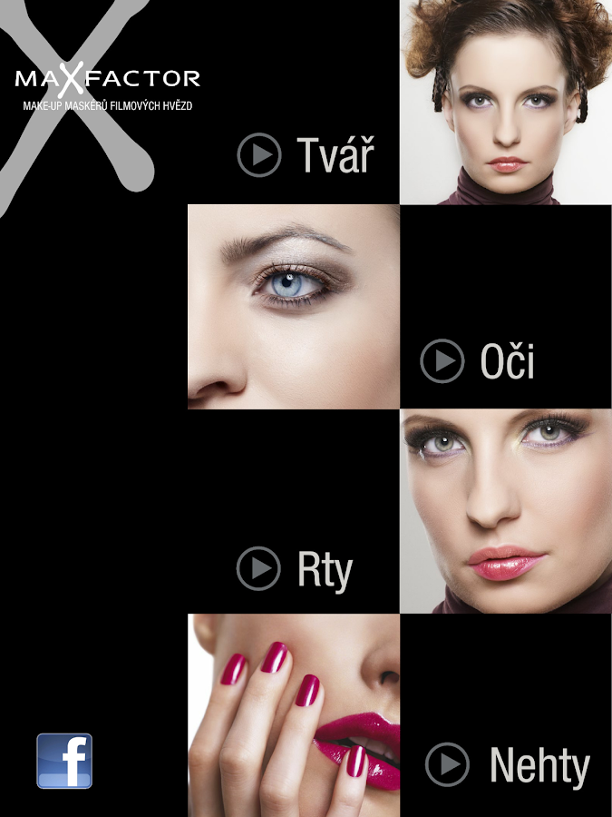 Katalog Max Factor- screenshot