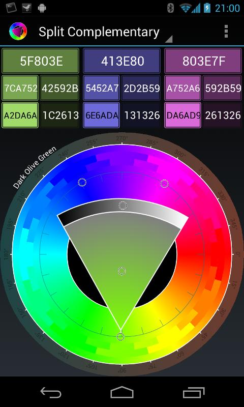 Colour Wheel- screenshot