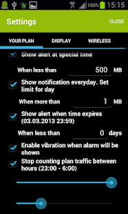 Mobile Counter | Data usage | Internet traffic 7