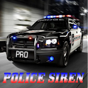 Police Siren And Lights Pro logo
