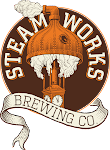 Logo for Steamworks Brewing Company
