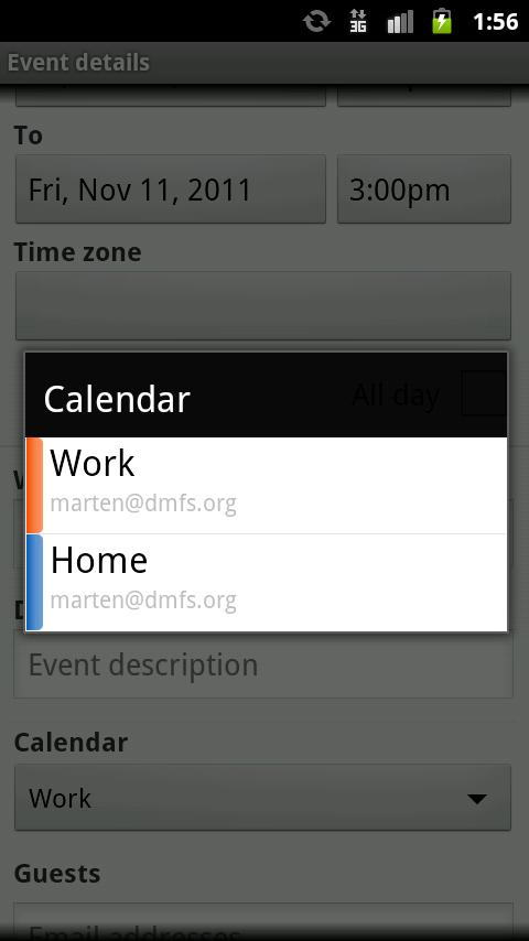 SmoothSync for Cloud Calendar - screenshot