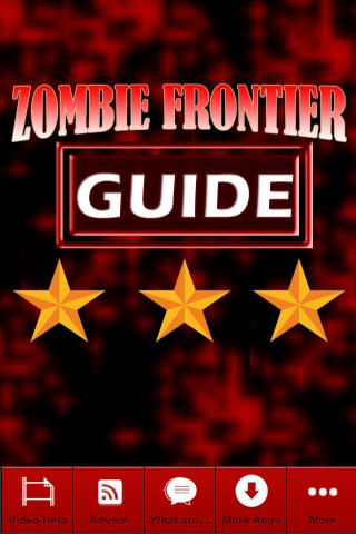 Zombie Frontier #1 Game Guide 1.01 apk