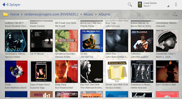 Screenshot of 2player 2.0 UPnP/DLNA Player