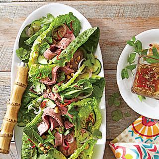 Thai Roast Beef Salad.