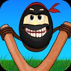 Crazy Ninja Egg: Clumsy Jump icon