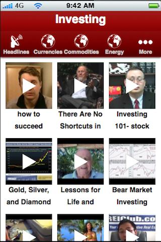 Investing- screenshot