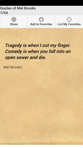 Quotes of Mel Brooks