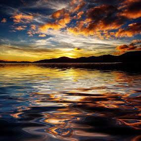Sunset 1 by Angelica Glen - Landscapes Sunsets & Sunrises ( , golden hour, sunset, sunrise )