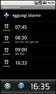 Talking Alarm Clock - screenshot thumbnail