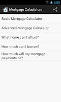 Screenshot of Mortgage Calculator (Pro)
