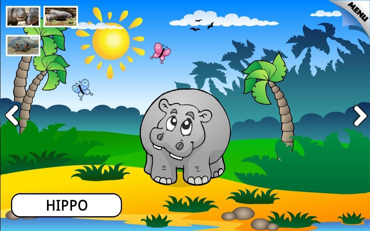 kids animals farm and zoo free screenshot