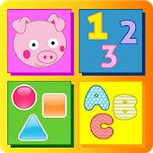 Peppie Pig Educational Games icon
