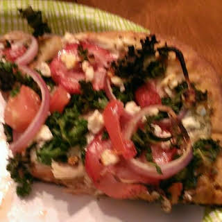 Time for Spring Pizza with Sweet Potato Dough.