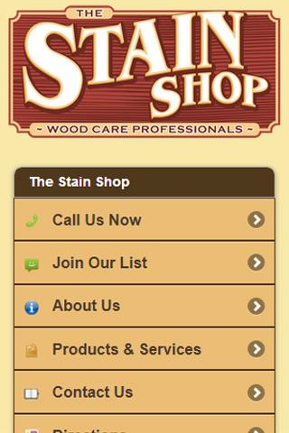 The Stain Shop