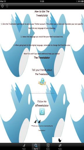 The Twitter Translator