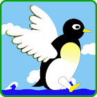 Penguin Fly! : Relaxing Game icon