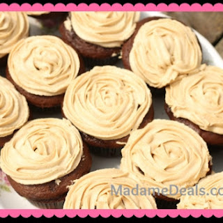 Kid Cupcake Recipes – Chocolate Cookie Butter Cupcakes