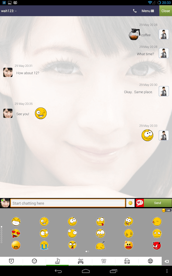Chat, Call & Friend ♥ DROIDMSG - screenshot