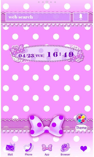 Purple polka dot Wallpaper 1.2 Windows u7528 1