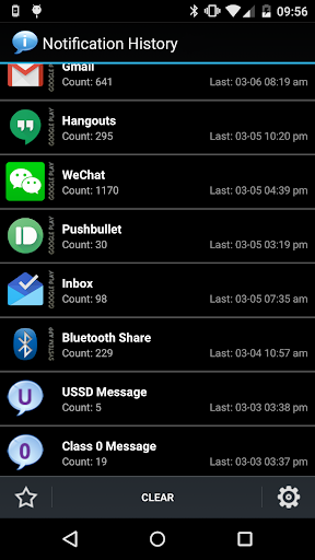 Notification History 1.8.12 screenshots 1