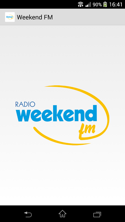 Radio Weekend FM- screenshot