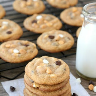Butterscotch Pudding Triple Chip Cookies