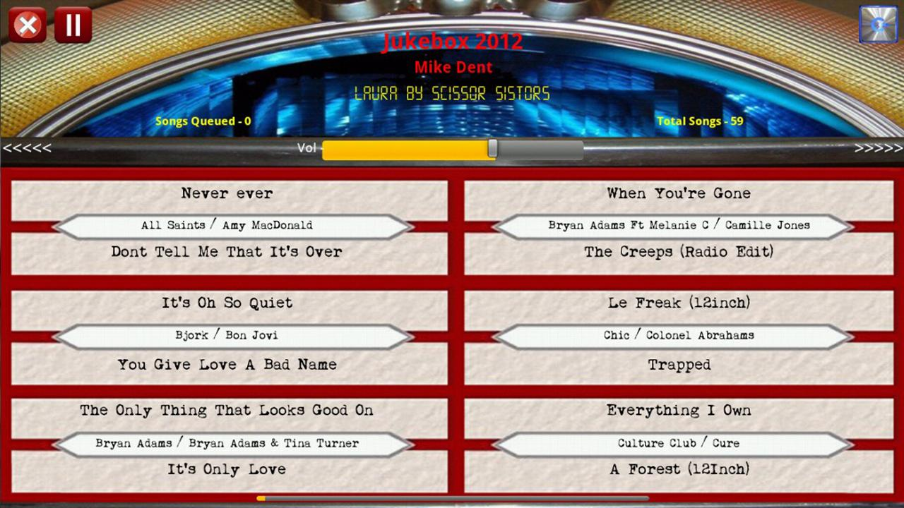 Jukebox 2012 Free Edition- screenshot
