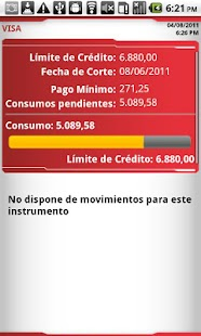 Banca Movil Banco Bicentenario - screenshot thumbnail