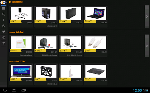 Newegg for Google TV screenshot 8