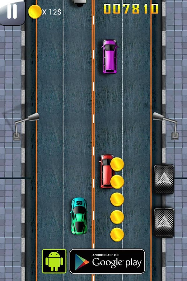 Car Race: DownTownRush2 - screenshot