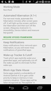 Greenify (Donation Package) screenshot 3