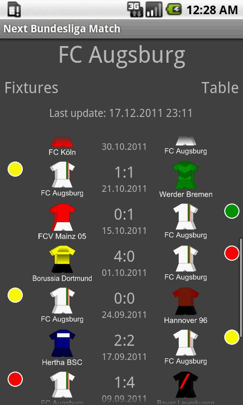 Next Bundesliga Match FREE - screenshot