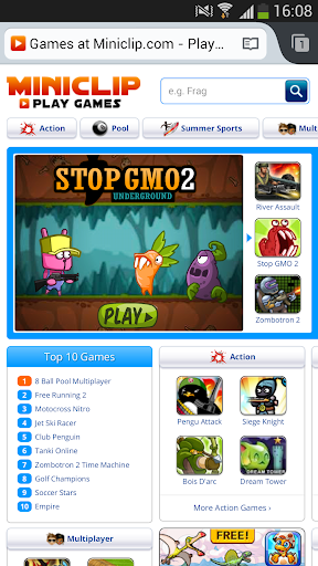 Screenshot for FlashFox Pro - Flash Browser in United States Play Store