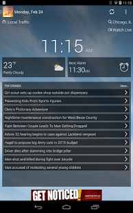KVAL AM NEWS AND ALARM CLOCK- screenshot thumbnail