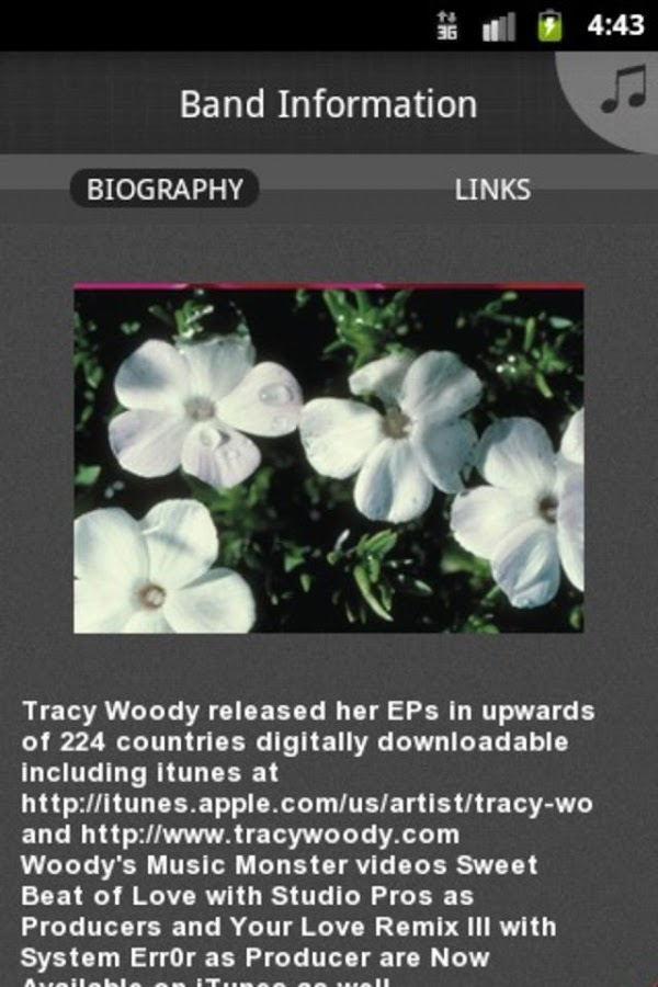 Tracy Woody - screenshot