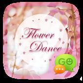 GO SMS FLOWER DANCE THEME