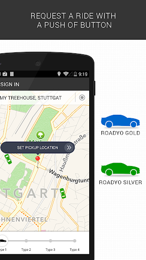 RoadYo - For on demand taxis