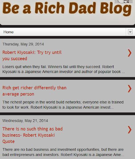 Robert Kiyosaki Quotes News
