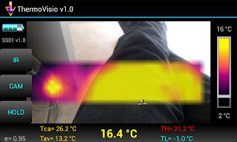 Screenshot of ThermoVisio