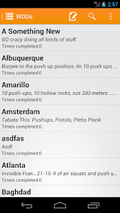Travel WODs: Travel Workouts- screenshot thumbnail