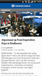 ED nieuws app - screenshot thumbnail