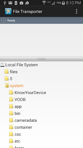 Mobile SFTP Secure FTP Client