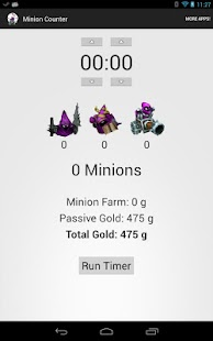 League of Legends MInionCount - screenshot thumbnail