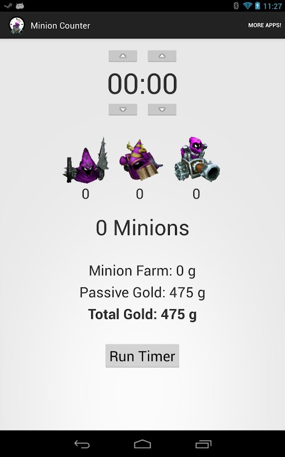League of Legends MInionCount - screenshot