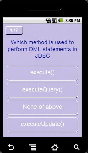 Java Quizz