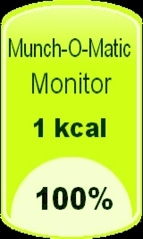 Munch-o-Matic Monitor- screenshot