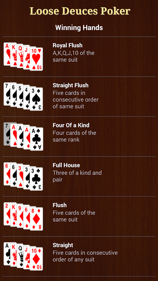 Loose Deuces Poker - screenshot
