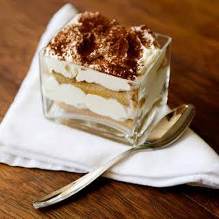 Quick Tiramisu Trifles.