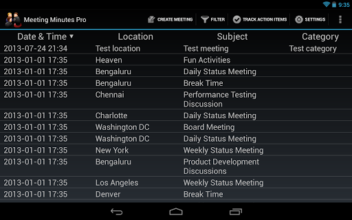 Meeting Minutes Pro